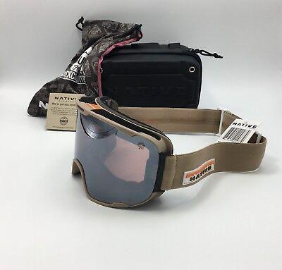 5fa875d77d Native Eyewear Treeline™ Hawkeye Tan Snow Goggles