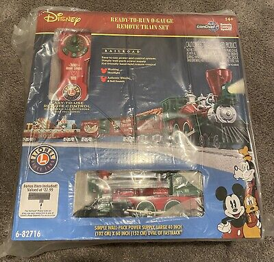 Lionel Disney Mickey's Holiday to Remember Christmas Lionchief 6-82716 Train Set
