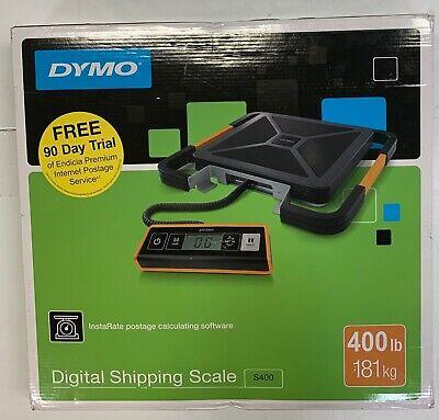 Dymo S400 Digital Usb Shipping Scale - 400 Lb 181 Kg Maximum Weight New