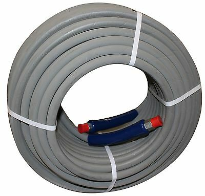 200 Ft 38 Gray Non-marking 4000 Psi Pressure Washer Hose 200 - Free Shipping