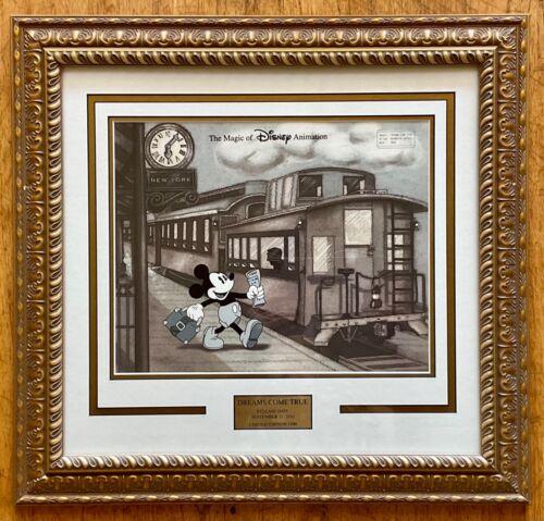 "Disney's Animation Gallery ""Dreams Come True"" Limited Edition Cel Custom Frame"