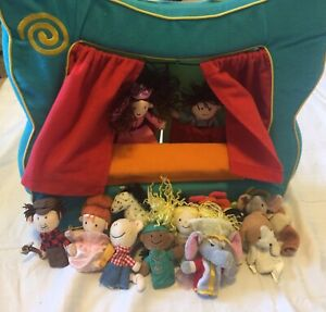 Puppet Theatre and 16 Finger Puppet