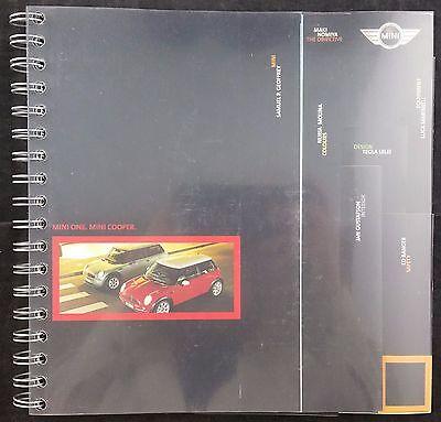Mini One & Mini Cooper UK Sales Brochure Dated 2001