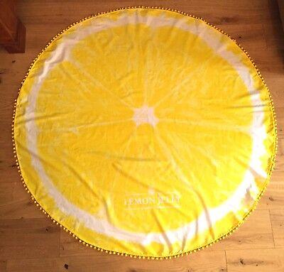 Runder Oversized Schal bzw Tuch von Lemon Jelly ()