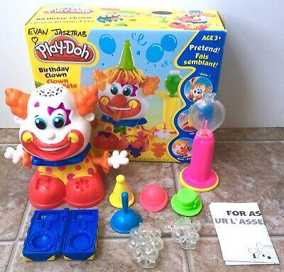 RARE Play Doh Birthday Clown COMPLETE IN BOX Hasbro 2006