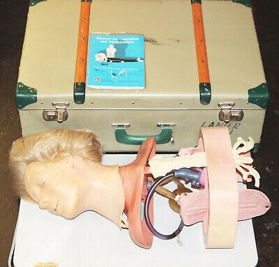 Laerdal Resusci Anne Anatomic Torso Cpr Emt First Aid Training Manikin Case