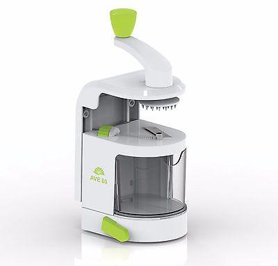 Spiralizer Vegetable Slicer, Veggie Zucchini Noodle Maker, Vertical Gravity Fed