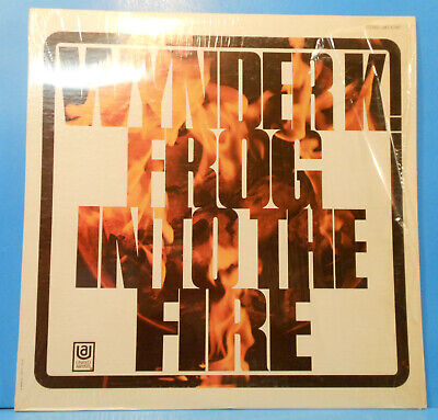 e9f128b4a21 WYNDER K FROG INTO THE FIRE LP 1970 ORIGINAL SHRINK GREAT CONDITION!  VG+ VG++!