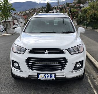 Holden Captiva New Town Hobart City Preview