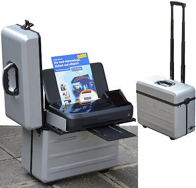 Chariot malette d'ordinateur portable parat tron-x avec support pour drucker hp