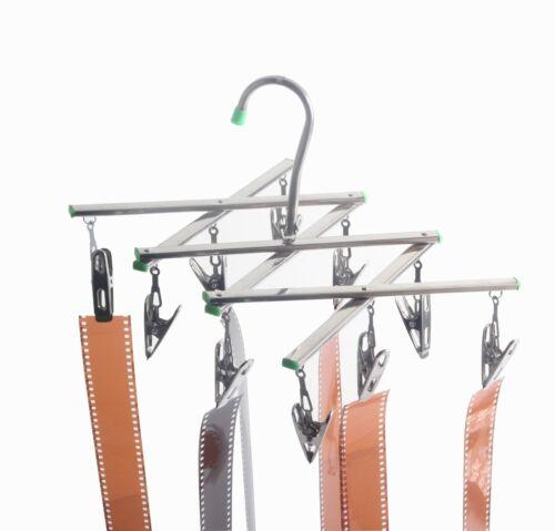 Folding Film Drying Rack Negative Hanger Dryer Darkroom Processing Kit 10 Clips