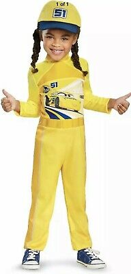 Cars Movie Halloween Costumes (Cars 3 Movie Child Halloween Dress Up Costume Racing Size L)
