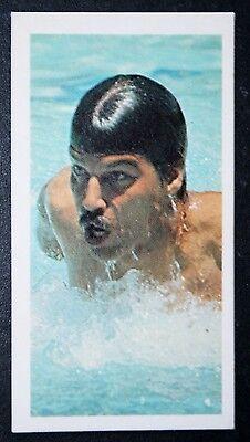 Swimming Legend   Mark Spitz   United States   Action Photo Card  # VGC