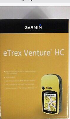 Garmin eTrex Venture HC Handheld GPS Brand New in Box!! Camping/Hunting/Fishing