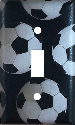 Soccer Sports Single Toggle Light Switch Cover Wall -