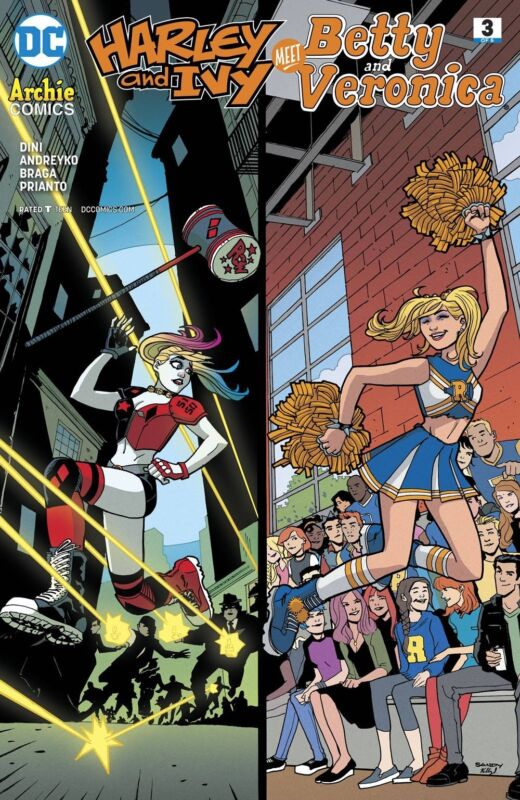 Harley and Ivy meet Betty and Veronica #5 DC 2018 Archie