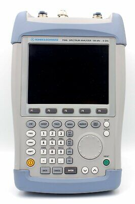 Rohde Schwarz Fsh-6 Rs Handheld Spectrum Analyzer W Tracking Generator