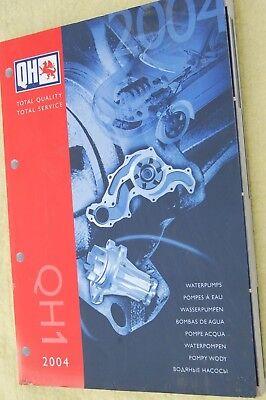 Quinton Hazell QH Water Pumps Catalogue QH1 2004