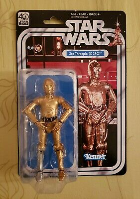 Star Wars Black Series Vintage 40th Anniversary C-3PO