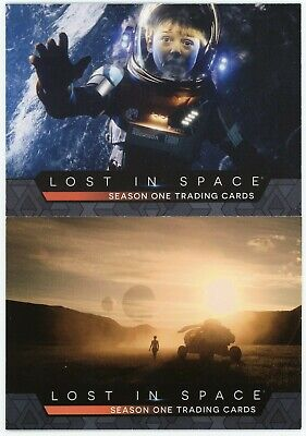 2019 Lost In Space Season 1 72 Card Base Set 1-72 + P1 and P2 promos