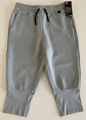 Under Armour Mens UA Unstoppable Knit 3/4 Joggers Pants 1324218 025 Gray M L 2XL ()