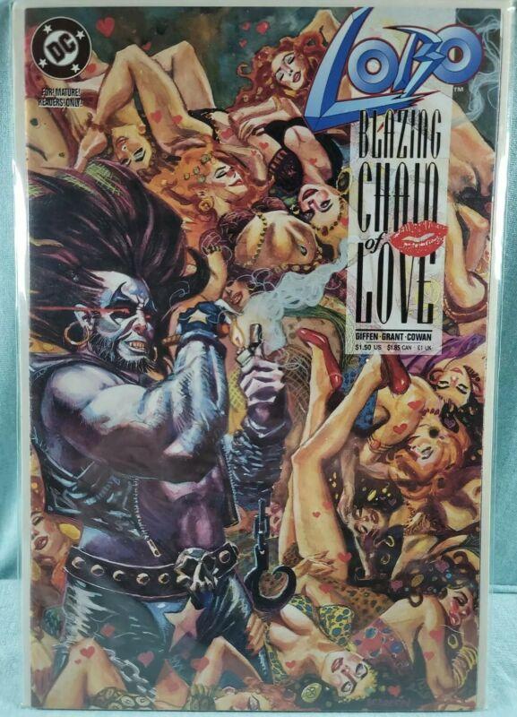 Lobo Blazing Chain of Love DC 1992 NM One-Shot Keith Giffen Alan Grant
