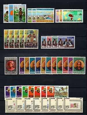 Belgisch Congo Belge - Rep. du Zaïre Collection MNH sets (5) c32.15Eu.