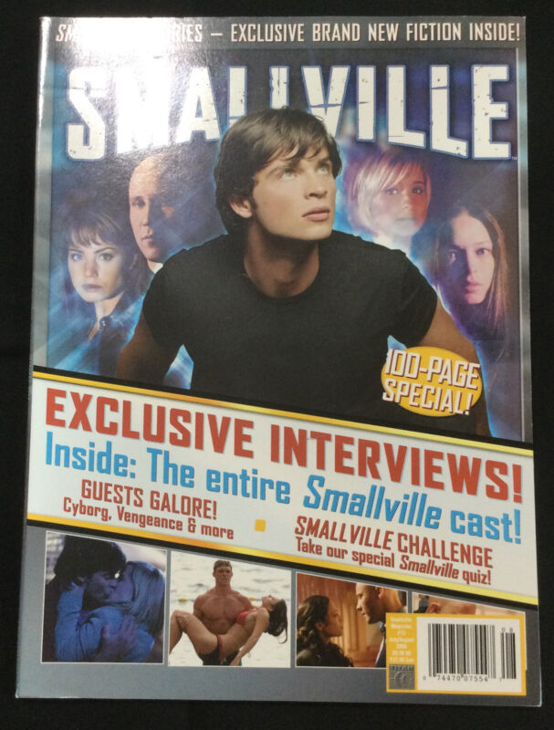 Smallville Magazine # 15 Jul/Aug 2006 Cast Interviews Yearbook 100 Page Special