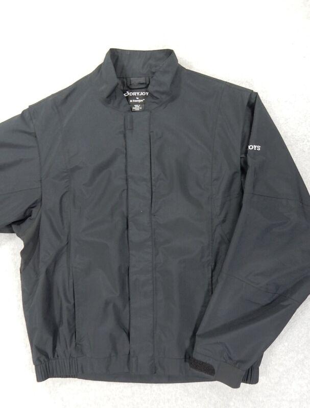 DryJoys By FootJoy WaterProof Golf Rain Jacket (Mens Large) Black
