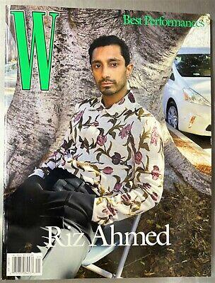 W MAGAZINE-VOLUME 1, 2021-BEST PERFORMANCES-RIZ AHMED COVER - BRAND NEW