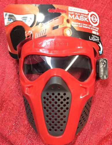 Red Rival Face Tactical Mask Dart Gun kids Toy Outdoor Game