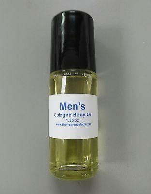 1.25 oz Patchouli Vanilla Cologne Body Oil Fragrance Mens Roll On One Bottle ()