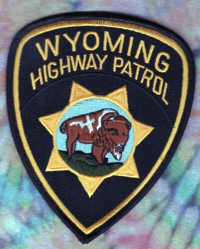 Wyoming Highway Patrol Shoulder Patch