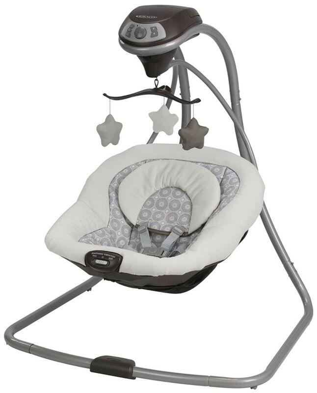 Graco 1927133 Simple Sway Baby Swing Bouncer - Abbington