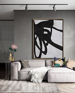 Large Abstract Acrylic Painting Designer Wall Art For Sale