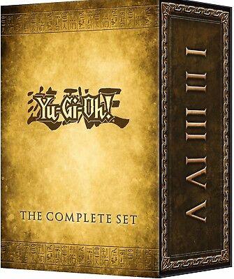 Yu-Gi-Oh! the Complete (32 Disc) DVD Series Set 1-5 - Season 1 2 3 4 5 - YUGIOH