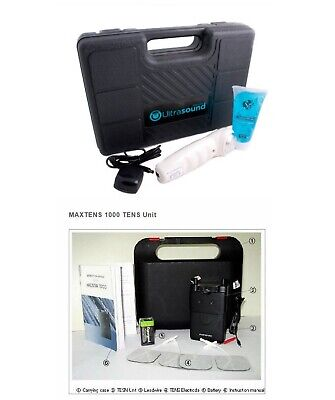 Bonus Ultrasound Portable Unit Pm 2000 Tens Pain Management Unit