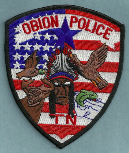 OBION TENNESSEE POLICE SHOULDER PATCH