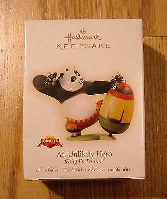 Panda Ornament (NIB Hallmark Keepsake Ornament - Kung Fu)