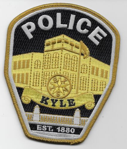 Kyle Police State Texas TX NEW NEAT