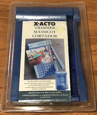 Nos Mini Guillotine Paper Trimmer Cutting Machine Xacto Grid Photocutter 8 New