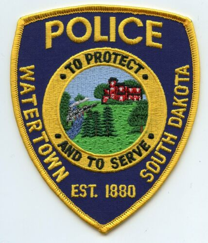 WATERTOWN SOUTH DAKOTA SD To Protect And To Serve POLICE PATCH
