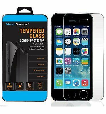 HIGH QUALITY PREMIUM REAL TEMPERED GLASS SCREEN PROTECTOR FOR IPHONE 5S 5C 5 Cell Phone Accessories