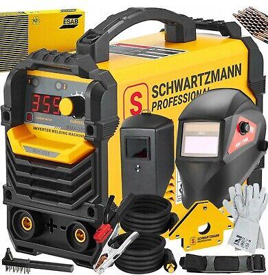 355 Amp Inverter Welder Mma Portable Welding Machine 240v. Schwartzmann Welder