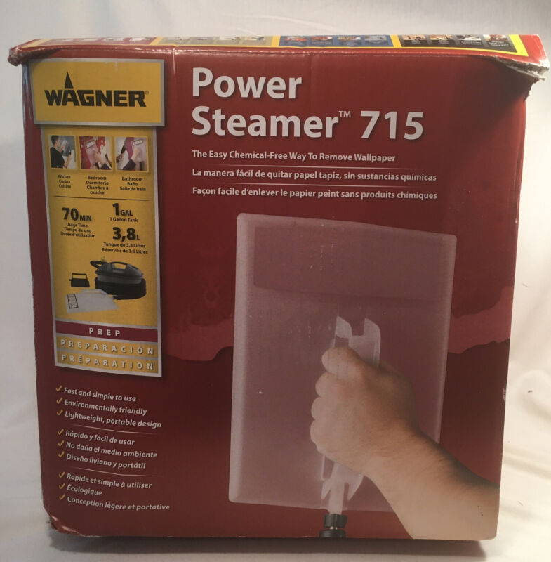 Wallpaper Power Steamer Wagner 715 Quick Removal Portable Used in box