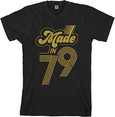 Made In 1979 Men's T-Shirt 40th Birthday Party Gift Idea (Adult Male Party Ideas)