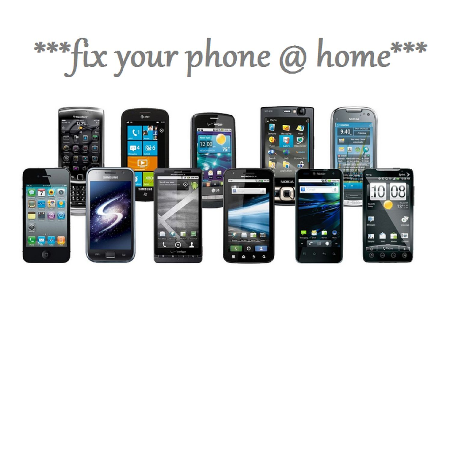 fix your phone at home