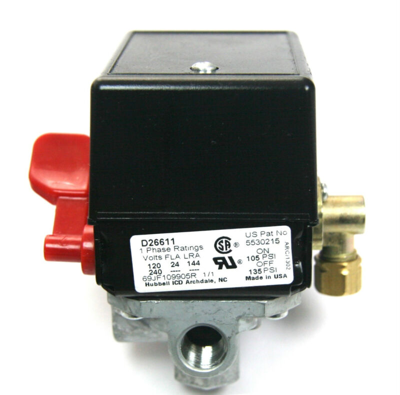 how to istall a air compressor cut off switch