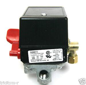 5140118 56 Porter Cable Air Compressor Pressure Switch