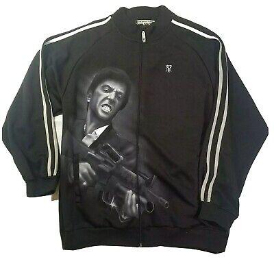 Scarface Clothing Tony Montana Al Pacino Full Zip Men's Jacket Bomber Scar Face